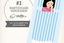 stoffe.de ✂ Die 10 schlimmsten Nähpannen / Jeder kennt diese typischen Nähpannen, oder?
