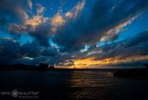 Epic OBX Sunrises and Sunsets / OBX, Hatteras Island, Ocracoke Island, North Carolina Sunrises, Sunsets, Off Shore Storms, Island Weather, Island Photographer, Epic Shutter Photography