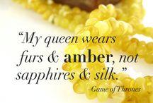Cool Amber / Amber art
