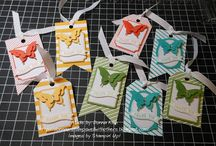 Stampin Up bag tags