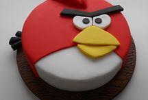 Gâteaux 3D Angry birds