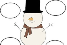 Snowman theme work / by cheryl forgea