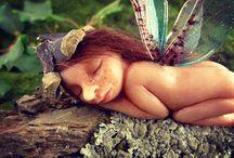{ my fairy figurines } / by movezerb