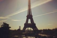 Paris / La ville que j'aime et que je déteste à la fois. Tout simplement la ville où j'habite