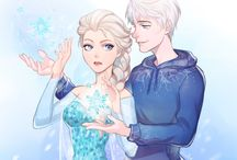 jelsa / love love this ship
