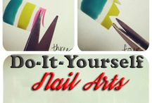 DIY Nail Arts / Want to know the coolest DO-IT-YOURSELF Nail arts for a certain occasion you are planning to go? We've got it covered for you!