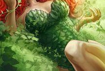Comics: Villains Poison Ivy
