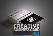 Business Card / Free Download Creative Business Card PSD Template