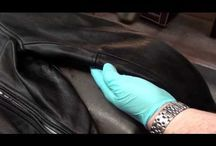 Leather Jacket Repair / Fix up your leather jacket or leather purse like new. Leather jacket dye repair kit, leather purse repair kit.
