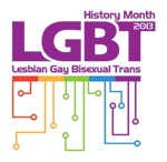 LGBT History Month. Celebrated each February / History Month: Lesbian Gay Bisexual Transgender celebrations