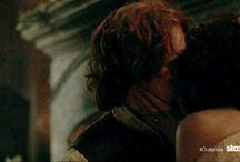Гифки поцелуй