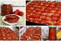 domates kurutması