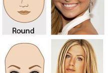 tipologie di viso!!!