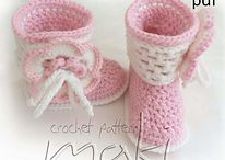 Crochet shoes / by Bayley Jaid