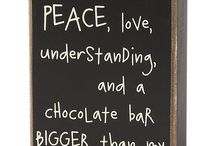 Chocolate / Just because it deserves it's own board.