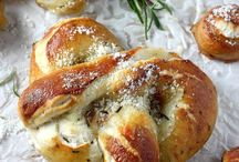 mozzarella stuffed pretzel