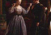 1850s-1865 / Dresses, CDVs, bonnets, etc! / by Chris L.