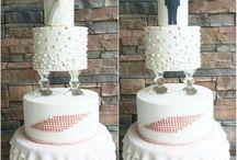Wedding Engagament Cake Kutlama Pastası
