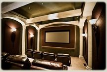 Home Theater / Let us create the best big screen television, surround sound system and speakers for your room and your lifestyle.
