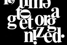 Fancy Type / Expressive typography