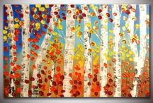 acryl træer