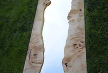 mirror & wood