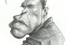 Caricaturas Lápis (pencil)