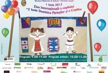 Muzeu / Evenimente, expoziții permanente și teporare, organizate de către Muzeele din București.