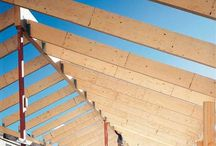 Our products: Kerto® LVL / Kerto is a laminated veneer lumber (LVL) product used in a variety of applications including beams, joists, trusses, frames, roof, floor and wall elements, components for the joinery industry (doors, stairs, windows) and vehicle industry, concrete formwork and scaffold boards.
