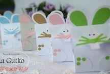 """Podziękowania dla gości na ślub, urodziny, komunię od """"La Gutko"""" / Więcej na www.facebook.com/pracownialagutko"""