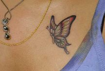 Collection of delicate & lovely Butterfly Tattoos / Let's explore the beauty of Butterfly Tattoos with us. Follow us we won't stop uploading delicate & lovely butterfly tattoos for you.