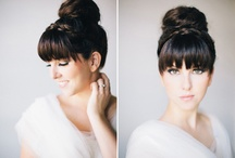 Wedding styles for girls with bangs
