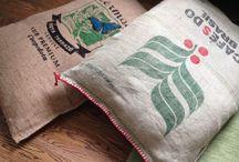 Kaffesæk inspiration / Lidt gode ideer til hvad man kan bruge en kaffe sæk til.