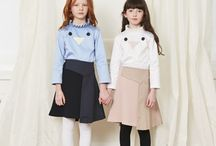 Owa Yurika AW2017 Childrenswear / A fresh take on children's luxury clothing featuring stylish designs and the highest quality fabrics.  For more information, please visit our website: www.owayurika.com