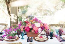 ethnic/tropical wedding