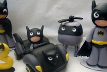 Super héroes en porcelanicrón