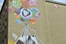 Street Art / Photos de street art prises au cours de mes voyages, à Berlin, New York, ...