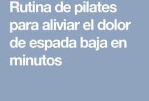 Esquena exercicis