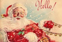 vintage holiday cards / by Corvus Noir