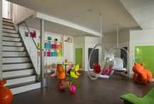 Playrooms in the Basement / Everyone needs a place to play but these basement rooms are really just for the kids - and kids at heart!