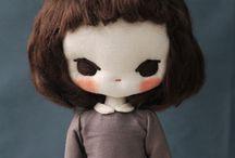 Poupée chiffon / Parce que je reste une éternelle enfant et que j'admire les créatrices de poupées.