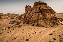 Porsche Cayenne S en Namibia / El Porsche Cayenne S descubre las fascinantes áridas tierras  de Namibia.