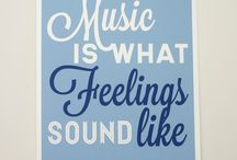 Music Quotes / Everything was already said. Indulge yourself with these inspirational music quotes.