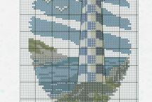 Mare punto croce