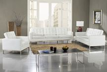 LexMod Loft (Florence) Sofa / The acclaimed mid century modern sofa series... now showing in your living room!