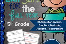Fifth grade-- math