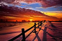 Photography: Cool Sunsets