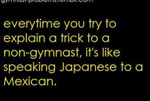 gymnastics problems/quotes