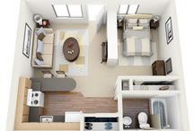 compact living 2 / Compact living - open plan project