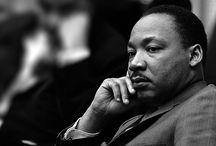 Martin Luther King / Korte oplysninger til emne om Martin Luther King